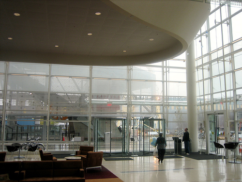 The Lobby of the OHSU Center for Health and Healing