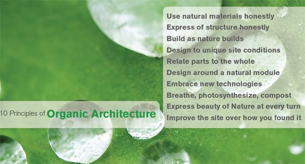 10 Principles of Organic Architecture