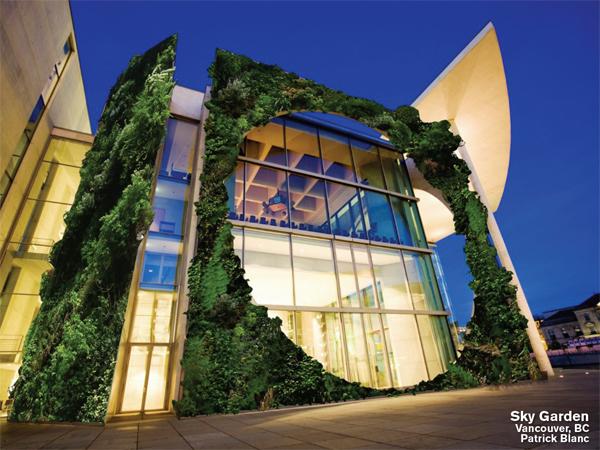 Sky Garden Living Wall, Vancouver, BC