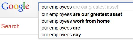 Our employees are our greatest asset
