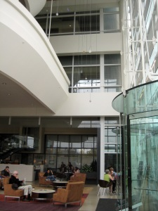 OHSU Center for Health and Healing Lobby